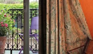 Værelse på Hotel Les Jardins du Luxembourg.